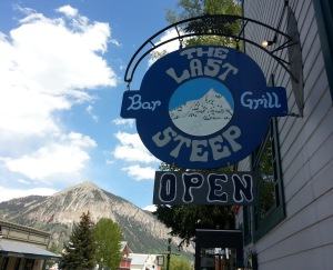 LastSteep sign