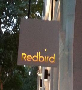 redbird sign
