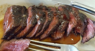 frietes steak